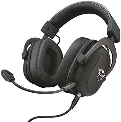 Trust GXT 414 Zamak Premium Gaming Headset/Kopfhörer (für PC/Laptop, PS4, Xbox One und Nintendo Switch) Schwarz