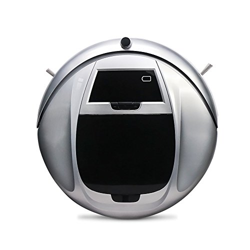 FORTUNE-DRAGON-Nettoyeur-Intelligent-Aspirateur-Robotique-de-Sol-Robot-Balayeur-de-Haute-Puissance-avec-un-Robot-Nettoyeur-Blanc-Puissant-des-Mnages-sans-fil