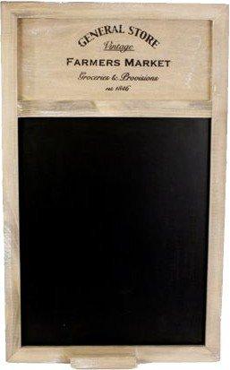 General Store Blackboard ~ 50cm x 34cm Shabby Chic Style Memo Board by Carousel Home