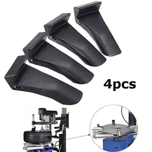 FADACAI 4 STÜCKE Kunststoff Einsätze Backenklemme Abdeckung Schutz Felgenschutz Für Reifenmontiermaschine