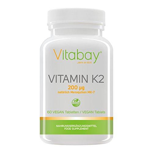 Vitamin K2 200 µg (60 vegane Tabletten)