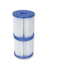 Bestway 58093 Filtro Cartuccia i per Pompe, Blu, 7.8×7.8×18.1 cm