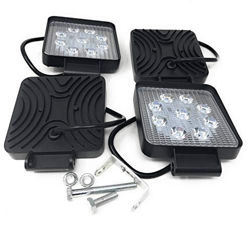 4 X 27W 4.3INCH LED WORK LIGHT 2565LM LED LUCE LAMPADA FARO DA LAVORO FARETTO AUTO BARCA FUORISTRADA...