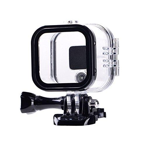 Suptig sostituzione impermeabile custodia protettiva per GoPro Hero 4SESSION, 5SESSION fuori sport fotocamera per uso subacqueo-resistente all' acqua fino a 59,7m (60M)...
