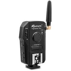 Aputure Trigmaster Plus TX3L - Disparador inalámbrico (Remoto y receptores para cámaras Olympus), Negro