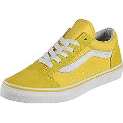 Vans Old Skool Chaussures Aspen Gold/True White