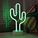 Lampara de Cactus LED Decorativa Para Escritorio