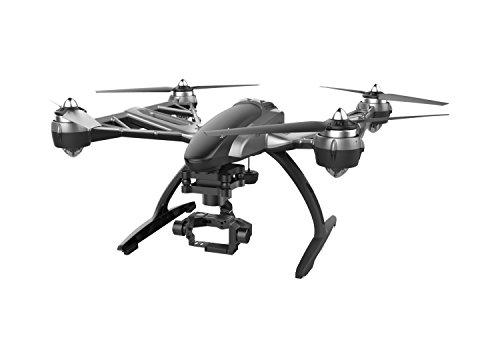 Yuneec Typhoon Q500 Drone con Alleggiamento per GoPro, Altezza massima: 122 m, Grigio/Nero