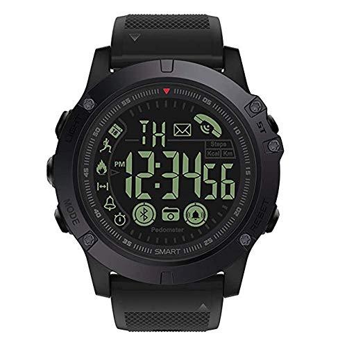 T1tatto uomo Digital sport orologio parlante di grado militare super Tough intelligente orologio...