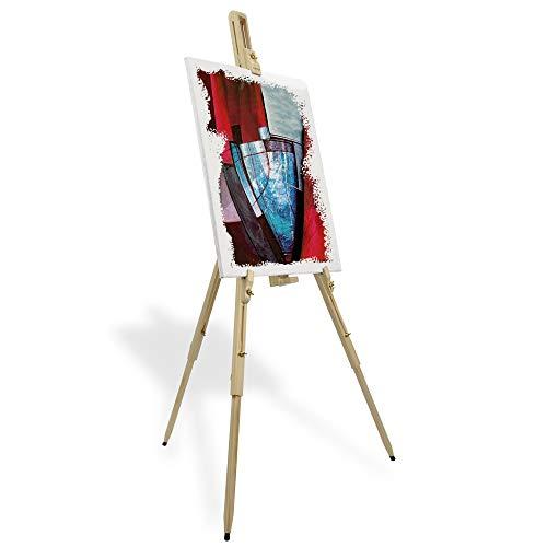 Artina Cavalletto pittura da campagna Malaga per artisti pittori accademia belle arti legno massello...