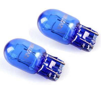 2 luci di marcia diurna o luci di posizione T20 W21/5W 580 7443, super bianco tipo xeno, lampadine...