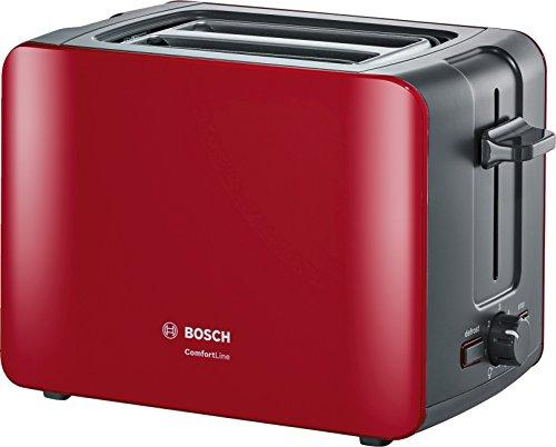 Bosch tat6a114compatto da tostapane Comfort Line, automatica del pane, funzione scongelamento,...