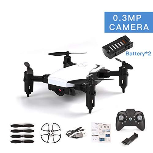 Fantasyworld LF606 Dual Batteries Drone with 0.3MP Camera FPV Quadcopter Foldable RC Drones HD...