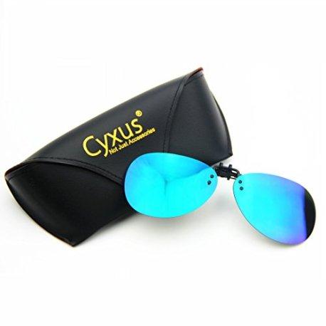 Cyxus Flash aviateur classique Verres miroir polarisées Lunettes de ... efa537b4f651