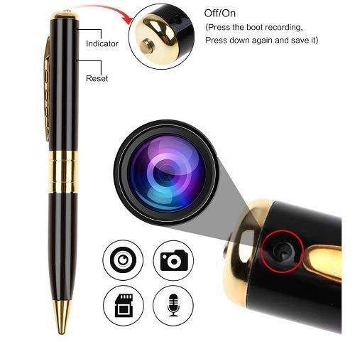 SHOP ONLINE Spy Camera Recording Video Audio Recorder Hidden Pen Camera Mini DV Spy USB DV Security Camcorder with Non-Slip Mat