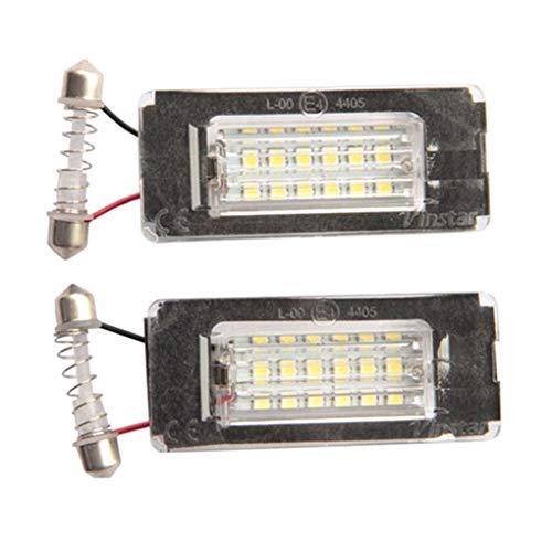 Compatibile con Mini Cooper R56 R57 R58 R59 2006-2014 1 paio di luci posteriori a LED con luce targa