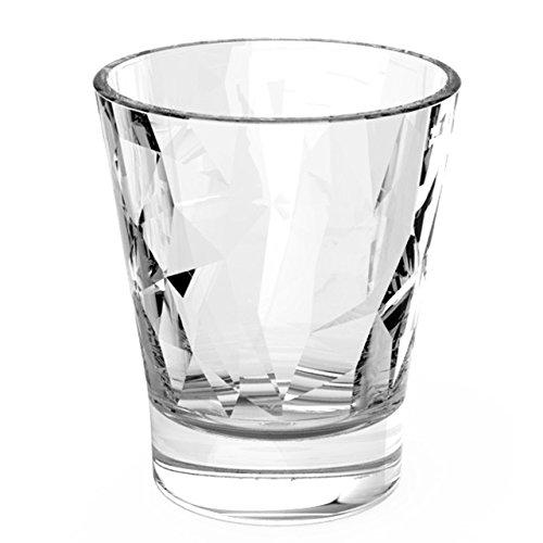 SET 6 bicchierini trasparenti 8 cl Bormioli Diamond bar liquore caffè