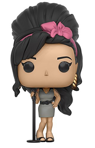 Funko - Figurine Musique Rock - Amy Winehouse Pop 10cm - 0889698106856