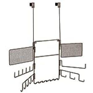 InterDesign Organizador de Joyas, Acero Inoxidable, Bronze, 55.8x4.5x59.8 cm