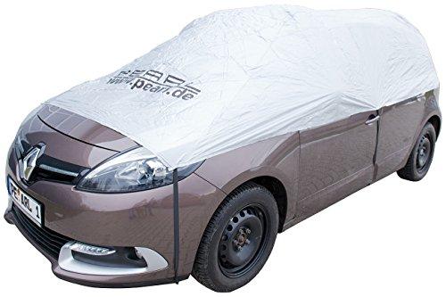 PEARL Sonnenschutz Auto: Auto-Halbgarage für Kleinbus & Transporter, 470 x 140 x 65 cm (Schneeschutz Auto)