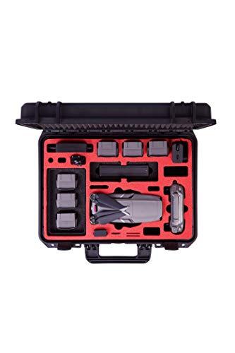 MC-CASES Valigia professionale per il DJI Mavic 2 Pro & Zoom con abbondanza di spazio - Valigia...