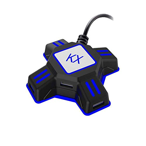 AKDSteel KX USB Game Controller Converter Keyboard Mouse Adapter for Swi-tch/X-box/P-S4/P-S3 Electronic Product