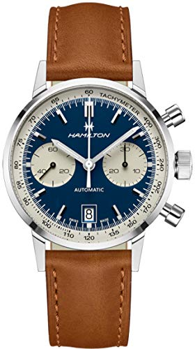 Orologio da uomo AMERICAN CLASSIC INTRA-MATIC AUTO CHRONO in acciaio H38416541