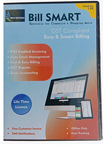BILL SMART Billing Software For Cosmetic Stores