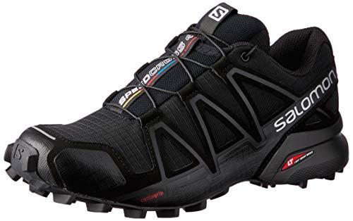 Salomon Speedcross 4 Scarpe da Trail Running Donna, Nero Black Metallic), 38 EU