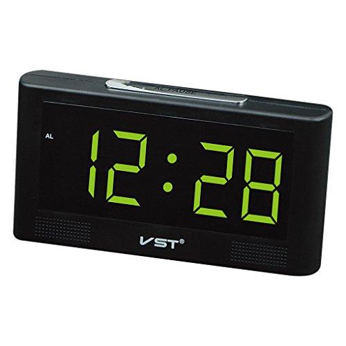 defb8ae579fc Homyl LED Reloj Digital de Pared Escriotorio Mesa con 2inchs ...