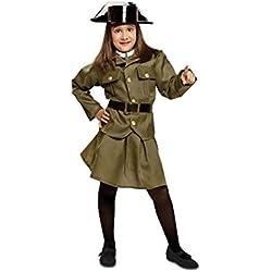 My Other Me Me - Disfraz de Guardia civil para mujer, talla 7-9 años (Viving Costumes MOM00920)