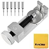 Zacro Watch Band Strap Link Pin Remover Repair Tool Kit for Watchmakers with Pack of 6 Extra Pins