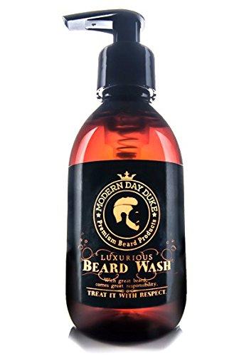 Savon pour barbe luxurieux Modern Day Duke, lavage de barbe, champoing pour barbe, encourage la croissance saine, XL 200ml