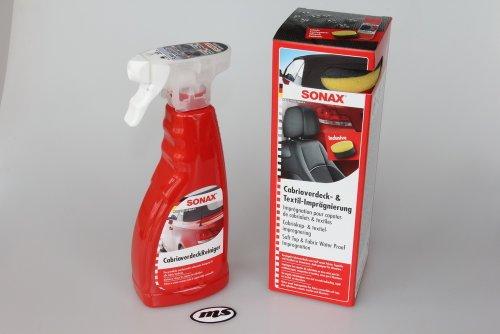 SONAX Cabrioverdeck Reiniger + Imprägnierer 2-teilig