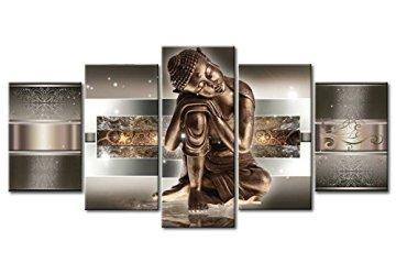 murando - Cuadro de Cristal acrílico 200x100 cm - Cuadro de acrílico - Impresion en Calidad fotografica - Buda h-C-0034-k-m 9