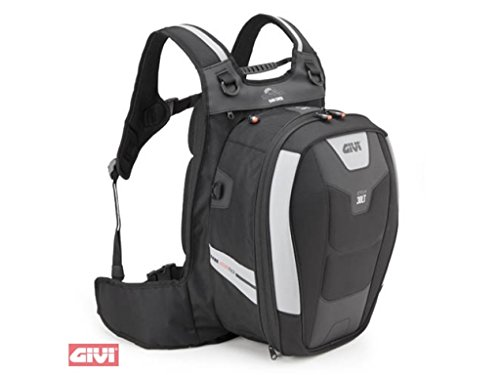 Givi XS317 Xstream Bag Mochila, Color Negro, 30 Litros de Volumen, Carga Máxima 4 Kg