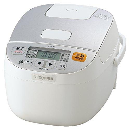 ZOJIRUSHI Reiskocher Mikrocomputer Formel-3Personen-Weiß nl-ba05-wa (Japan Import)