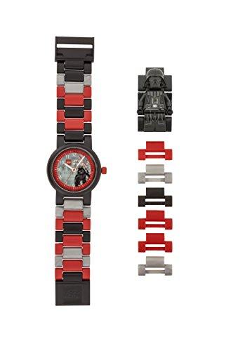 LEGO Star Wars 8021018 Orologio da polso componibile per bambini con cinturino a maglie e minifigure...