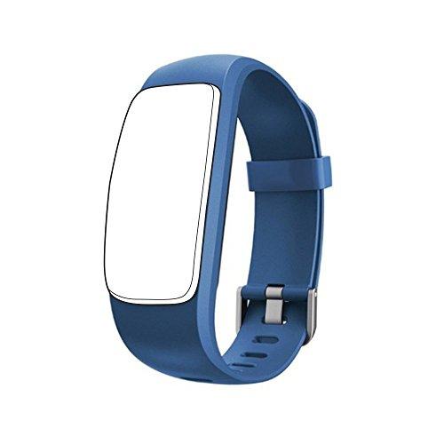 endubro Cinturino per ID107 Plus HR & Molti Altri Modelli Realizzato in TPU Skin-Friendly con Chiusura antiallergica