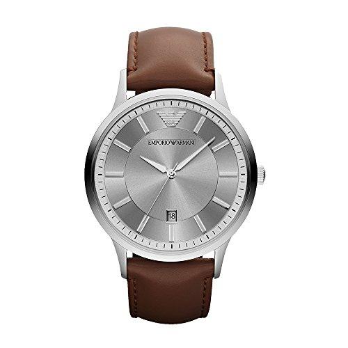 Emporio Armani Reloj Hombre de Analogico con Correa en Cuero AR2463