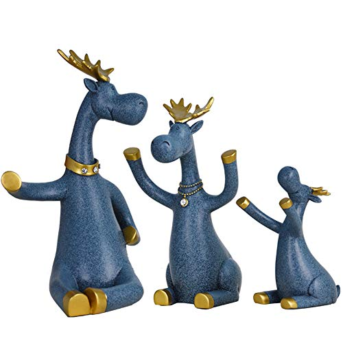 WEHOLY Cremagliera del Vino Animale Creativo Deer Elephant Decoration Home Soggiorno Moderno...