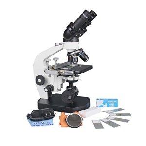Microscópio Binocular de Laboratorio con Respaldo de Batería, MICROSCOPIO OFERTA, MICROSCOPIO CON RESPALDO DE BATERIA