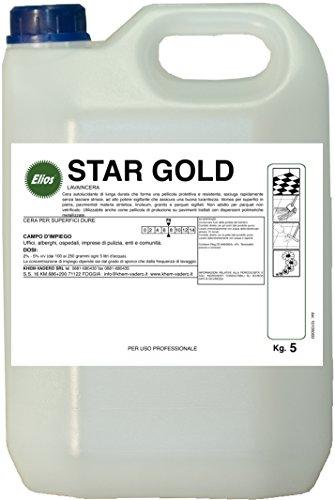 Elios - STAR GOLD cera autolucidante di lunga durata che forma una pellicola protettiva e...
