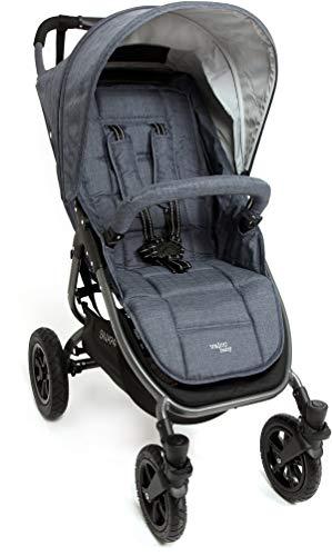 Valco Baby Original Snap 4 SPORT Single Stroller AIR Wheels (Tailormade Denim)
