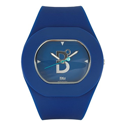 B360 WATCH Unisex-Armbanduhr B COOL Navy Small, 3 bars Analog Quarz Silikon 1070040