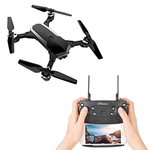 ZJYYD Drone Pieghevole con 120 ° Grandangolare HD 1080 P App Controllo WiFi FPV Quadcopter...