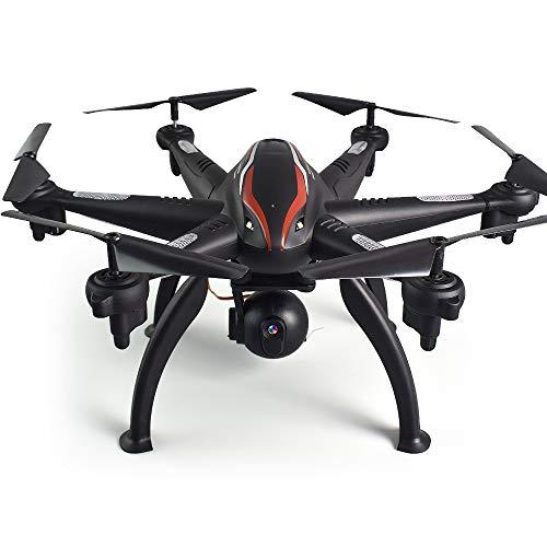 KAIFH Drone Telecamera HD 5G-1080P Antenna HD A Sei Assi Professionale A Quattro Assi Velivoli A Doppio ASSE con Drone Elettrico GPS A Lunga Durata Ritorno A Un Pulsante,720