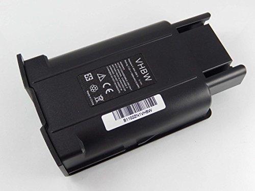 vhbw Li-Ion Batteria 1500mAh (7.2V) per Lavasciuga pavimenti e scopa Kärcher EB 30/1...