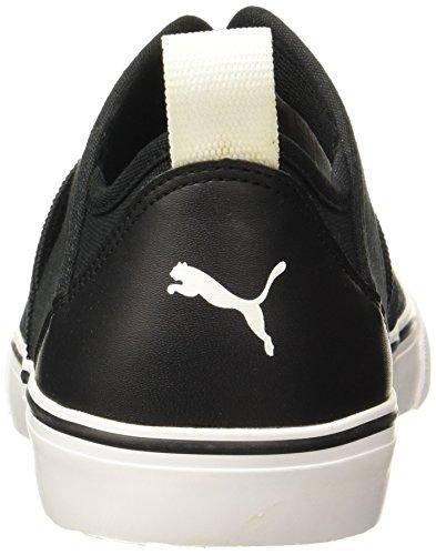 f769a0c40677 Puma Men s Milano Slip On Black-White Sneakers – 10 UK India (44.5 EU)