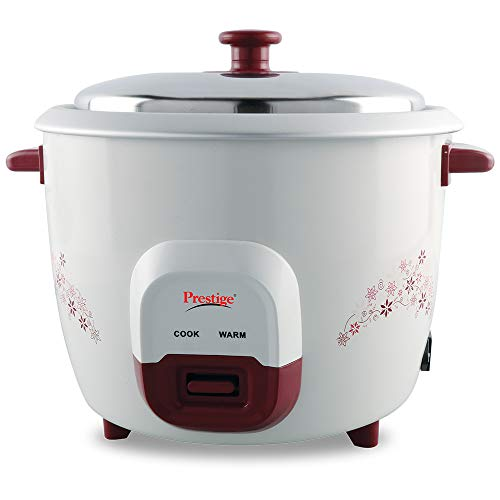 Prestige PRWO 1.0 Red Colour Rice Cooker